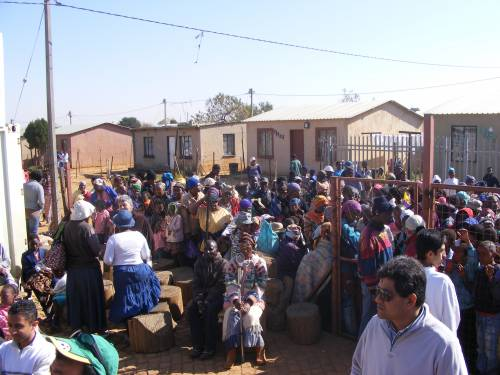 Johannesburg - Barcelona Informal Settlement (Daveyton, north of Benoni)