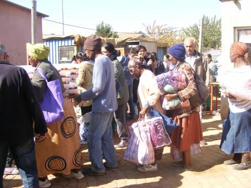Johannesburg - Barcelona Informal Settlement (Daveyton, north of Benoni)