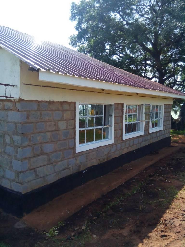 Phase 1: Classroom exterior finishing