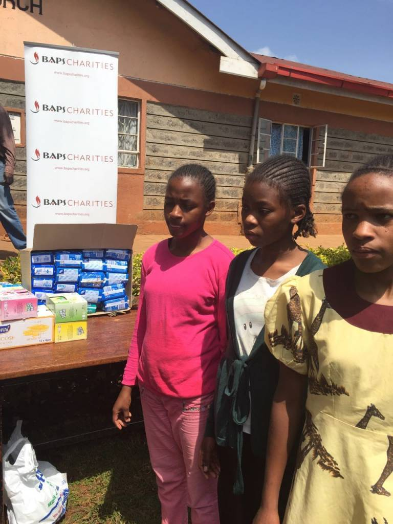 Speaking to girls about sanitary napkins