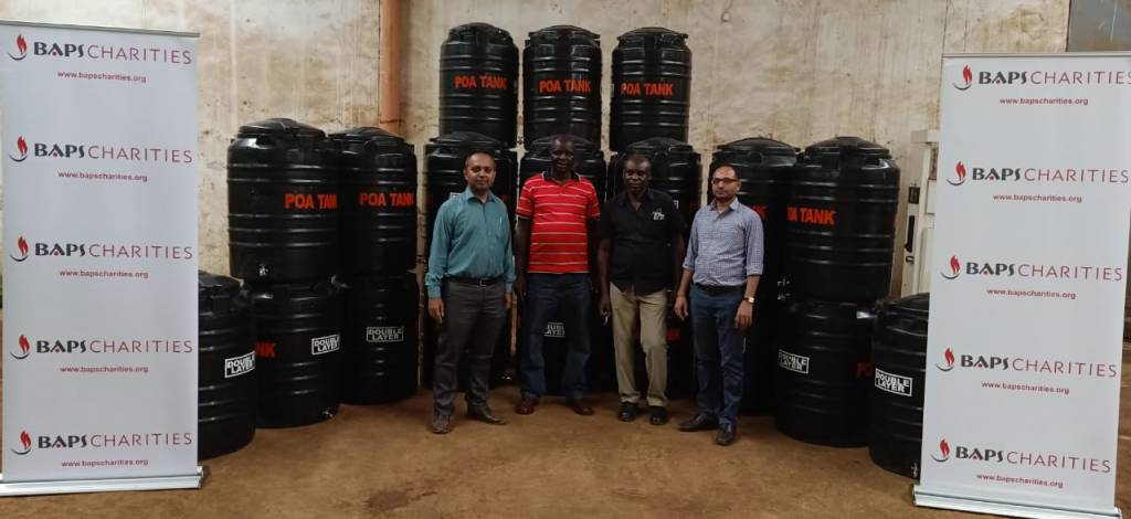 Tank donations for Kisumu county